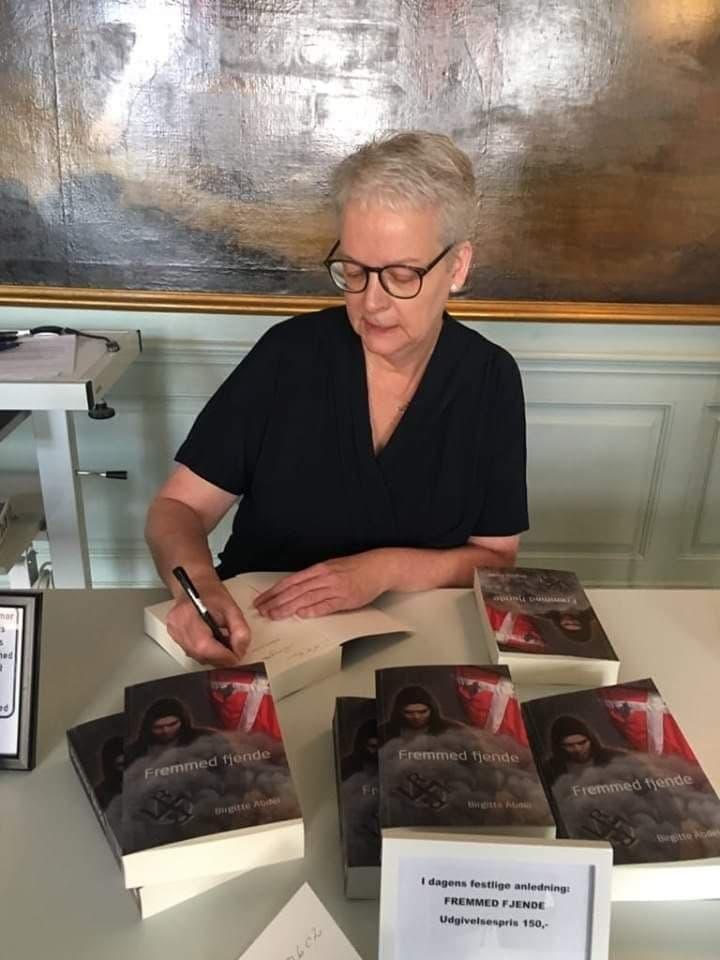 signering Birgitte Abdel